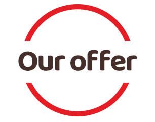 our offer logo